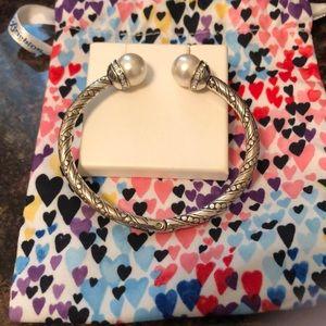 Brighton pearl charm bracelet